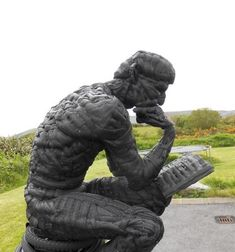 Stunning sculpture made entirely from bicycle tyres