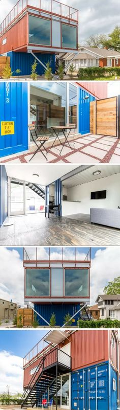 Fort Worth Shipping Container Home for Rent!