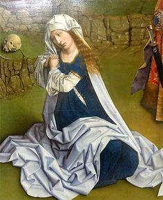 Petrus Christus - Lamentation - Détail - La Madeleine