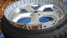 4 Sublime Tips: Muscle Car Wheels Motorcycles car wheels fire pit.Old Car Wheels Rust car wheels decoration boy rooms. Ford Mustang Car, Ford Mustangs, Rat Rod Cars, Scooters, Shelby Car, Camaro Car, White Truck, Rims For Cars, Car Accessories