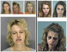 Faces of Meth - Faces of Meth: Striking infographic shows drug's terrifying toll on human body - NY Daily News Funny Mugshots, Health And Physical Education, Mental Health, Recovery Humor, Addiction Recovery, Celebrities Before And After, Sober Life, Sick, Poster