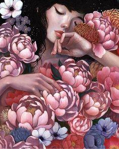 illustrations and art Fantasy Paintings, Fantasy Art, Beautiful Paintings Of Nature, Illustrations, Illustration Art, Goth Art, Magazine Art, Anime Art Girl, Female Art
