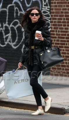 Shopping in Soho in New York, April 17, 2010