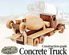 Wooden Toy Truck Plans - Wooden Toy Plans and Projects - Woodwork, Woodworking, Woodworking Tips, Woodworking Techniques
