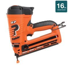 paslode angled 16 gauge 75 volt finishing cordless nailer with battery