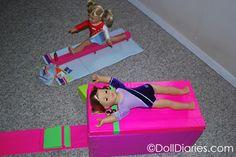 How to make a gymnastics vault for McKenna    AG