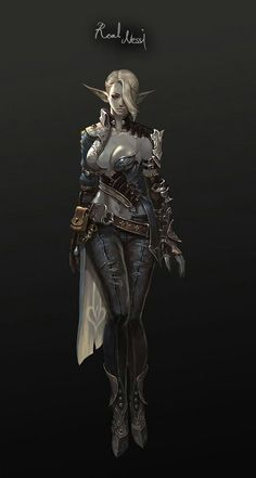 2012 Art by Nessi Fantasy Races, High Fantasy, Fantasy Women, Fantasy Rpg, Dark Fantasy Art, Fantasy Artwork, Female Character Concept, Fantasy Character Design, Character Inspiration