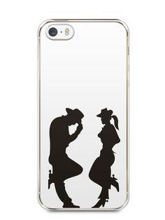 Capa Iphone 5/S Cowboy e Cowgirl - SmartCases - Acessórios para celulares e tablets :)