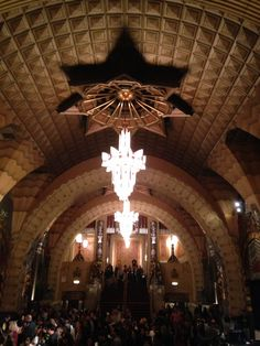 The Pantages Theater, Los Angeles