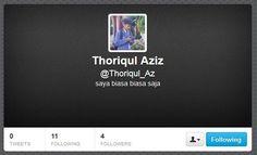 follow our golden president @Thoriqul_Az
