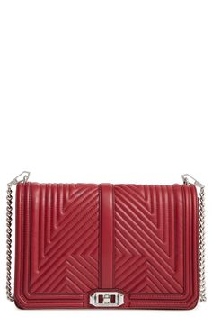 1f28d8c5cfc Rebecca Minkoff  Geo Quilted Love Jumbo  Crossbody Bag available at   Nordstrom Rebecca Minkoff