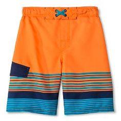 Boys' Swim Trunk - Cherokee® - Orange