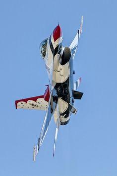 US Air Force Thunderbird Overhead by Mark Fann on 500px