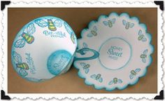 Paper Tea Cup and Saucer, designed by Laura Campbell. (Click on image to download the PDF template