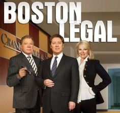 Boston Legal ~ wish it was still on!!  Best show ever.  Intelligent script, great acting, funny, thought provoking tv.