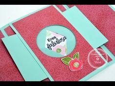 Mini Scrapbook Albums, Scrapbook Cards, Mini Albums, Scrapbooking, Origami Cards, Origami Paper, Cards Diy, Diy Crafts For Girls, Diy And Crafts