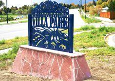 Arts and Venue Denver | Public Art | Denver Public Art Collection | Villa Park Gateway  Gary Sweeney  Steel & Stone  Federal Boulevard & 8th Avenue