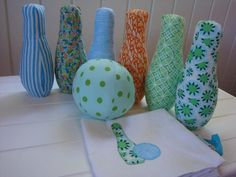 Colours of the Sea Fabric Skittles Set