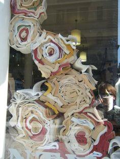 Anthropologie window display.