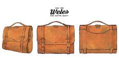 Handmade Photo Bag by Weles Design Leather Bags, Leather Backpack, Photo Bag, Backpacks, Handmade, Design, Fashion, Leather Tote Handbags, Moda