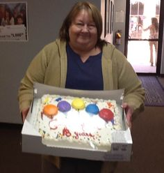 Driver manager, Janie Martin celebrates 18 with NCI