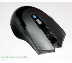 Are buton de pornire si oprire pentru siguranta la transport, rotita scroll nichelata si butoane elegante de culoare neagru mat.  Usor de folosit, ideal pentru orice tableta cu bluetooth.  Dimensiuni : Lungime : 95 mm x Latime : 65 mm x Inaltime : 33 mm  (cote de la extemitatile maxime ) Android, Orice, Ergonomic Mouse, Computer Mouse, Bluetooth, Tablet Computer, Pc Mouse, Mice