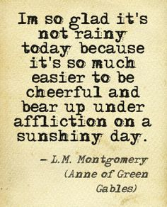 Anne of Green Gables. L.M. Montgomery