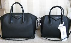 Givenchy Antigona (small vs medium)