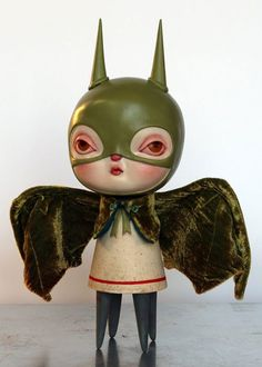 Kathie Olivas & Lana Crooks – Spring Olive Batgirl