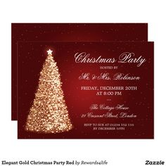 Christmas Party Save the Date