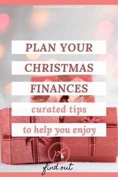 Celebrating holidays on a tight budget. Tips from personal finance bloggers to have your best frugal Christmas and not go broke. Christmas On A Budget, Christmas Fun, Christmas Planning, Early Retirement, Retirement Planning, Get Out Of Debt, Tight Budget, Personal Finance, Saving Money