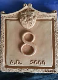 Risultati immagini per numeri civici in bronzo