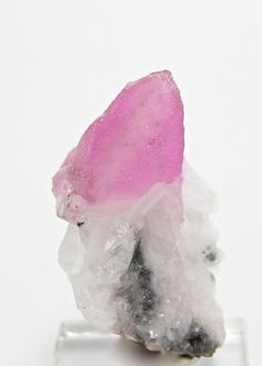 Cobaltian Cobalto Pink Calcite Crystal  Mineral by FenderMinerals,