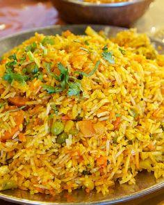 Low FODMAP Vegetable Biryani, make sure to use Jasmine rice it is low FODMAP, basmati is not