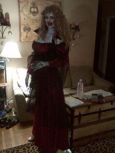 "Vampire Dracula Wife Victorian Zombie Prop 5'9"" Lifesize Mannequin Halloween   eBay"