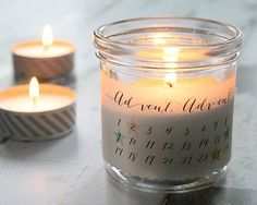 29. November: Adventskerzen im Glas: Stimmungsvoll leuchten | BRIGITTE.de