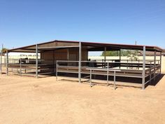 Mare motel barns - Just need a couple wind wall barriers and it is perfect