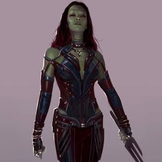 Gamora alternative suit revealed recently in a new concept art by Andy park Thanos Marvel, Marvel Fan, Marvel Comics, Marvel Actors, Marvel Characters, Character Inspiration, Character Art, Character Ideas, Character Design