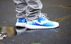 4f19a0d25fd25 Nike Roshe Run Santa Monica Sky New Detailed Pictures on http   www.