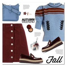 """Fall look"" by susli4ek ❤ liked on Polyvore featuring Miu Miu, Miss Selfridge, Prada, Rebecca Minkoff and Aéropostale"