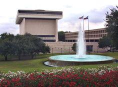 The Lyndon Baines Johnson Library and Museum, UT Austin #utaustin #40acres #architecture