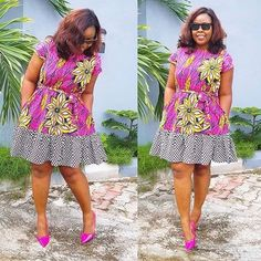 We got some lovely short African print dress styles that made of Ankara print for those of that like to rock Ankara short gown. Short African Dresses, Ankara Short Gown, Ankara Gown Styles, Short Gowns, Latest African Fashion Dresses, African Print Dresses, African Print Fashion, Africa Fashion, Ankara Fashion