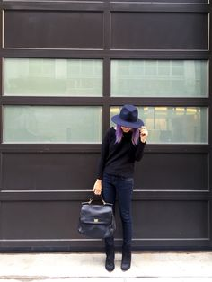 Hats On | avecnoir.nyc #ootd