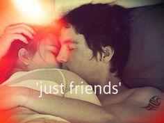 just friend   via Tumblr