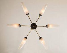 50 ceiling lamp, cone lamp, lamp, Sputnik (704058)