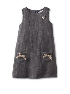 50% OFF Blumarine Girl's Tweed Jumper