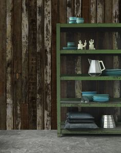 Scrapwood Wallpaper 2 by Piet Hein Eek | Happy Mundane | Jonathan Lo