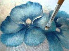 Pintura em tecido Eliane Nascimento: Amor perfeito Parte 1 - YouTube