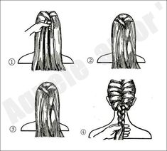 @Michelle Flynn Press learn how to do a french braid