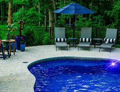 The C Series fiberglass pool features a bench, tanning ledge, and an organic shape. See more fiberglass pool designs and colors at riverpoolsandspas.com! #fiberglasspools #ingroundpools #swimmingpools In Ground Spa, In Ground Pools, Spa Colors, Spa Jets, Fiberglass Swimming Pools, 360 Virtual Tour, Pool Steps, Outdoor Living, Outdoor Decor